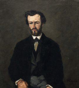 Portrait d'Antony Valabrègue (printemps 1866)