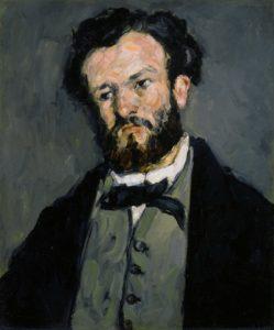 Portrait d'Antony Valabrègue 1869-1870