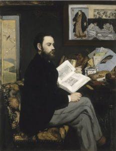 Edouard Manet - Emile Zola 1868, Paris, musée d'Orsay