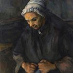 La Vieille au chapelet FWN515-R808 Oil on canvas ca 1896 85 x 65 cm
