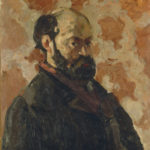 R274 Portrait de l'artiste au fond rose FWN436-R274 Oil on canvas Ca 1875 66 x 55 cm