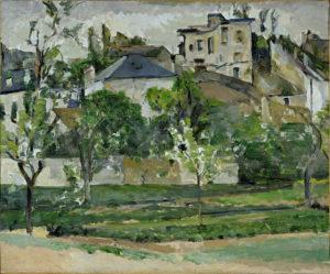 Le Jardin de Maubuisson, Pontoise Huile sur toile 50 x 61 cm Private Collection, Texas