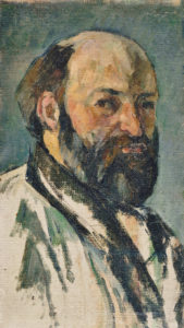 Fig. 6. Portrait de l'artiste (R385) Oil on canvas 1879-1880 26 x 15 cm