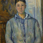 Portrait de madame Cézanne FWN489-R650 Oil on canvas 1888-1890 73.5 x 61 cm