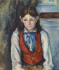 Fig. 8. Le Garçon au gilet rouge FWN494-R656 Oil on canvas 1888-1890 65.7 x 54.7 cm