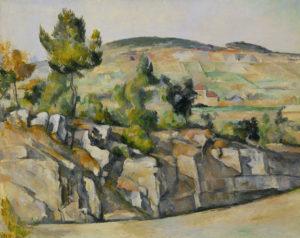 La Route en Provence FWN277-R718 1890-1892 Huile sur toile 65 x 81 cm Londres, The National Gallery