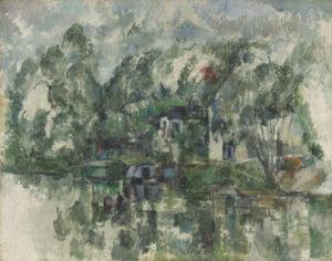 Au bord de l'eau FWN281-R724 c. 1890 Huile sur toile 73 x 92 cm National Gallery of Art, Washington, D.C.