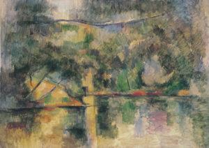 Les Reflets dans l'eau FWN284-R726 1892-1894 Huile sur toile 65 x 92 cm Museum of Art, Ehime