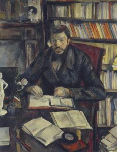 Portrait of Gustave Geoffrey Oil on canvas 1895 116 x 89 cm.