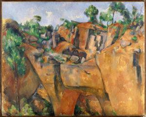 La Carrière de Bibémus FWN306-R797 Vers 1895 Huile sur toile 65 x 80 cm Essen, Museum Folkwang