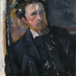 Portrait de Joachim Gasquet FWN521-R809 Oil on canvas 1896