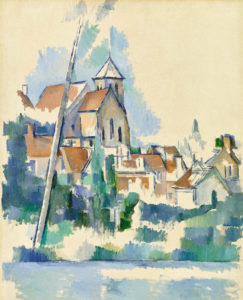 L'Église de Montigny-sur-Loing FWN327-R832 1904-1905 Huile sur toile 92 x 73 cm Barnes Foundation, Philadelphia
