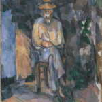 R950 Le Jardinier Vallier FWN547-R950 Oil on canvas 1905-1906 65.5 x 55 cm