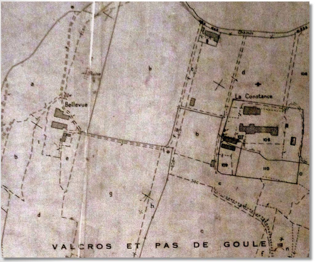 Plan cadastral V, 1860