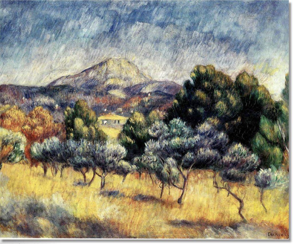 La Montagne Sainte-Victoire Vers 1888 ; huile sur toile ; 53 x 64 cm New Haven Connectticut, Yale University Art Gallery