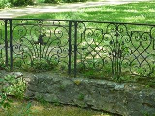 Cyrille Rougier, Balustrade du jardin du Jas de Bouffan.