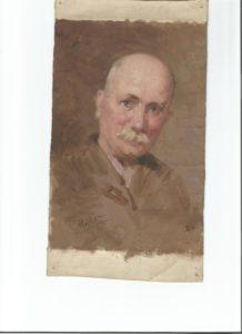 Portrait de Cyrille Rougier par Joseph Milon.