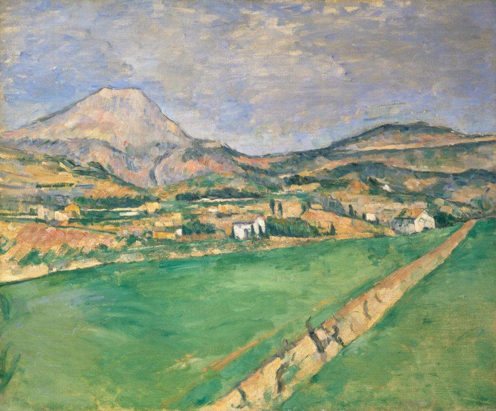 Vers la montagne Sainte-Victoire R397