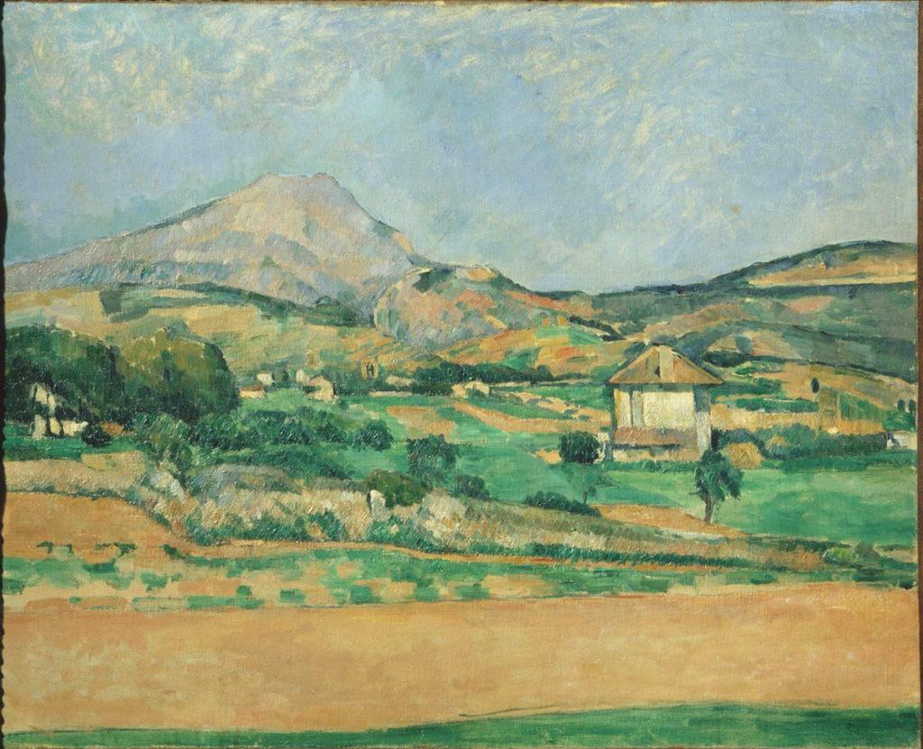 La Montagne Sainte-Victoire vue du chemin de Valcros R398