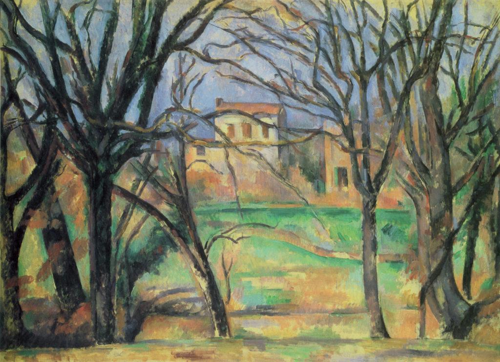La Bastide La Durane dans la plaine de Valcros II vers 1885-1886 ; huile sur toile ; 54 x 73 cm, Paris, musée de l'Orangerie, R549 FWN 218