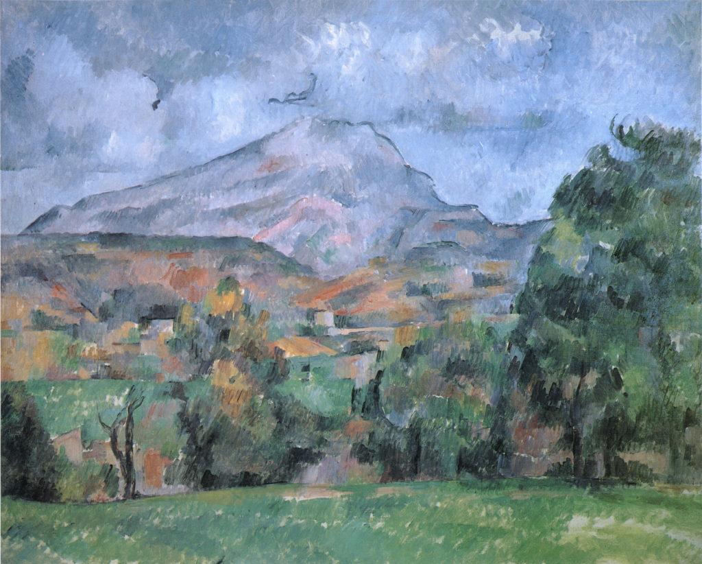 La Montagne Sainte-Victoire 1888-90. huile sur toile ; 65 x 81 cm Londres National Gallery (dép t Bergruen) R631