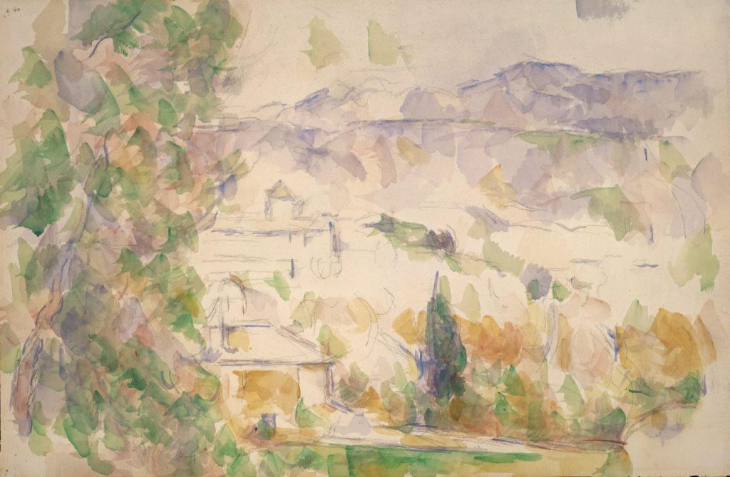 Environs d'Aix-Bastides Lou Deven et Barbaroux 1900-1906 RW579