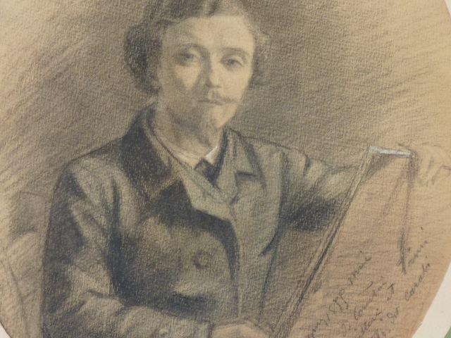 Autoportrait d'Emperaire en jeune homme, 1855, collection particulière