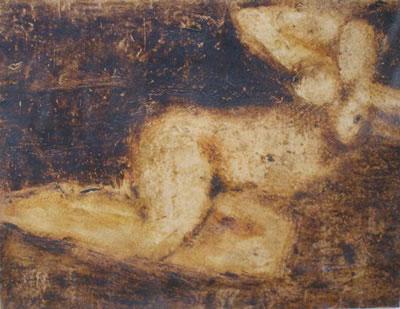 Achille Emperaire, Femme nue, collection particulière
