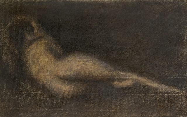 Achille Emperaire, Femme en noir