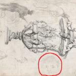 1878-etudes-autour-dune-gravure-decorative-tete-du-fils-paul-c0238e