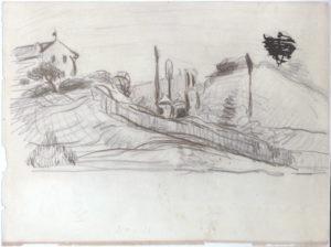 La Tranchée, vers 1868-70 C0120
