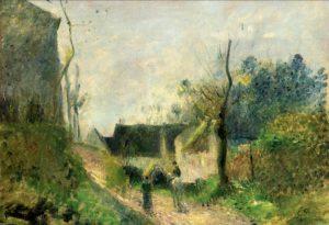 Pissarro, Paysage au Valhermeil, vers 1880