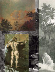 Le Baigneur au rocher, 1862-1864 R028 à R031, FWN5 FWN900