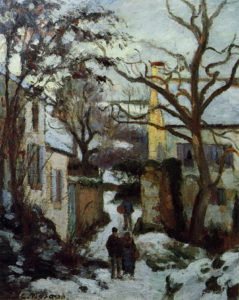 Pissarro - Chemin sous la neige