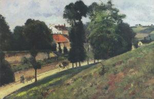 Pissarro - Les Mathurins, Pontoise 1875
