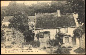 Carte postale ancienne La Maison du père Lacroix.