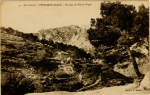 Carte postale vers 1900 (Alain Mothe)