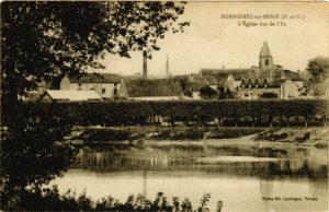 Carte postale ancienne (Alain Mothe)