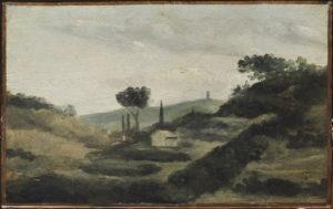 La Tour de César, vers 1862 19 x 30 cm R024 -FWN 3