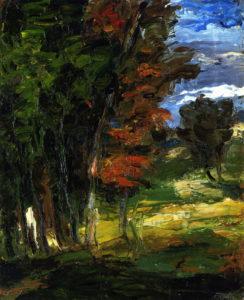 Paysage, 1862-1864 46 x 38 cm R043 - FWN 13