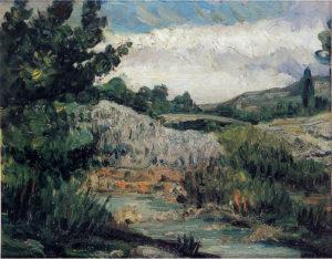 Paysage, vers 1865 22,5x28,2 cm R053 FWN20
