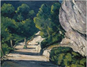 La Route de forêt, vers 1870 53.7 x 65 cm R168 FWN56