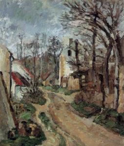 La Vieille Route à Auvers-sur-Oise (rue des Pilonnes) I 1872-1873 55 x 46 cm) R190 FWN68