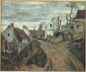 La Vieille Route à Auvers-sur-Oise (rue des Pilonnes) II 1872-1873 46 x 55.3 cm R191 FWN69