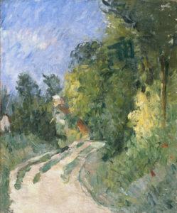 La Route tournante en sous-bois, vers 1873 55.2 x 45.7 cm R197 FWN73