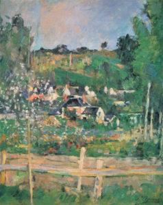Vue d'Auvers-sur-Oise - La Barrière, vers 1873 44.5 x 34.5 cm R200 FWN80