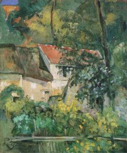 La Maison du père Lacroix, Auvers-sur-Oise, 1873 61.5 x 51 cm R201 FWN77