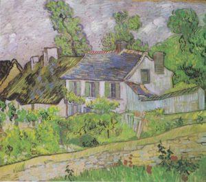 Vincent van Gogh, Maisons à Auvers, 1890 Toledo Museum of Art