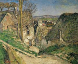 La Maison du pendu, Auvers-sur-Oise vers 1873 55 x 66 cm R202,FWN81