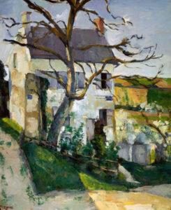 La Maison Rondest, quartier de l'Hermitage, Pontoise c74 65 x 54 cm R222 FWN85